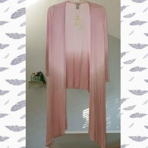 Vertigo Paris Pink Ombre Multi-Wear Cardigan